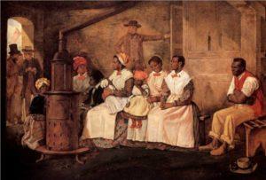 Die institutionalisierte Sklaverei auf Plantagen spielt heute keine Rolle mehr.
